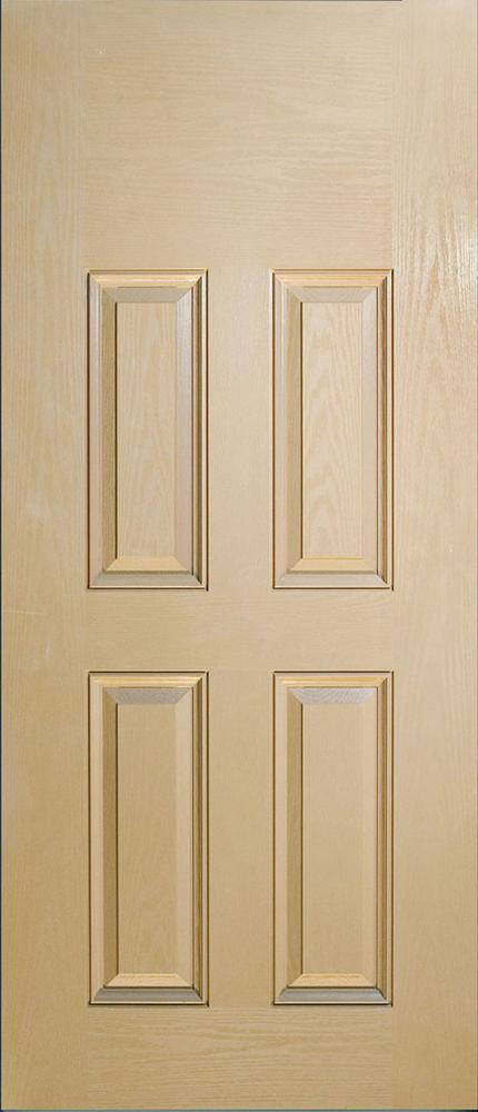"6'8"" Fiberglass 4 Panel Oak Textured (WG46)"
