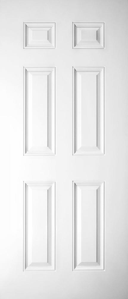 "6'8"" Fiberglass 6 Panel Smooth (SG68)"