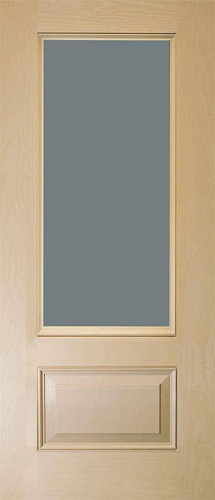 "6'8"" Fiberglass 3/4 Lite Open&Beaded Oak Textured (WG27)"