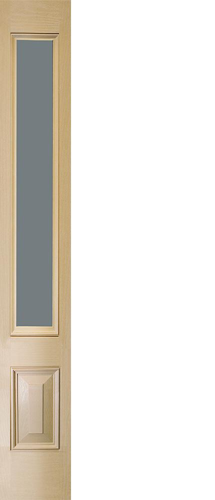 "6'8"" Fiberglass 3/4 Sidelite Open&Beaded Oak Textured (WS27)"