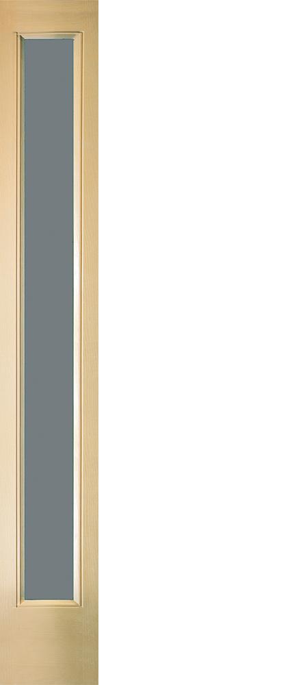 """6'8"""" Fiberglass Full Lite Open&Beaded Oak Textured (WG12)"""