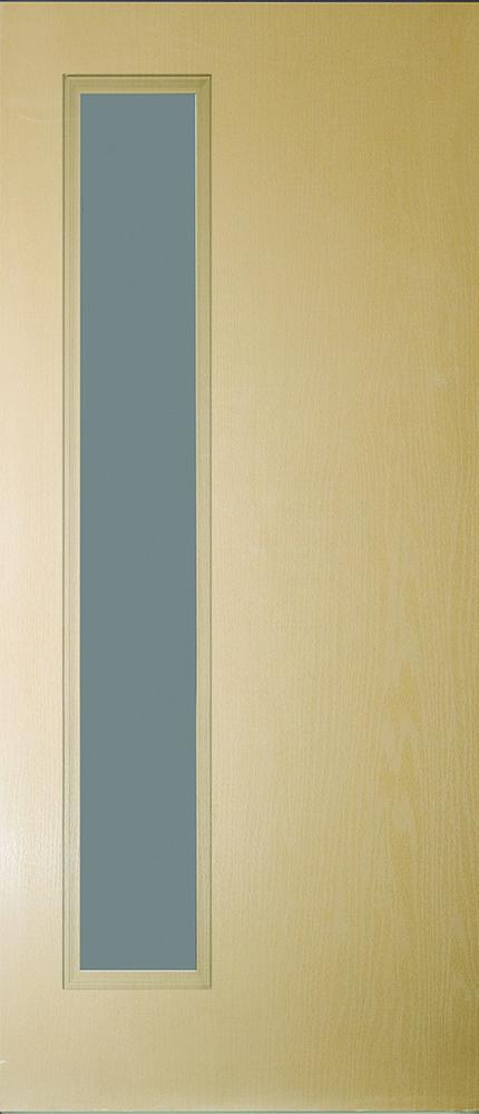 "6'8"" Fiberglass Narrow Lite Open&Beaded Oak Textured (WG5L)"