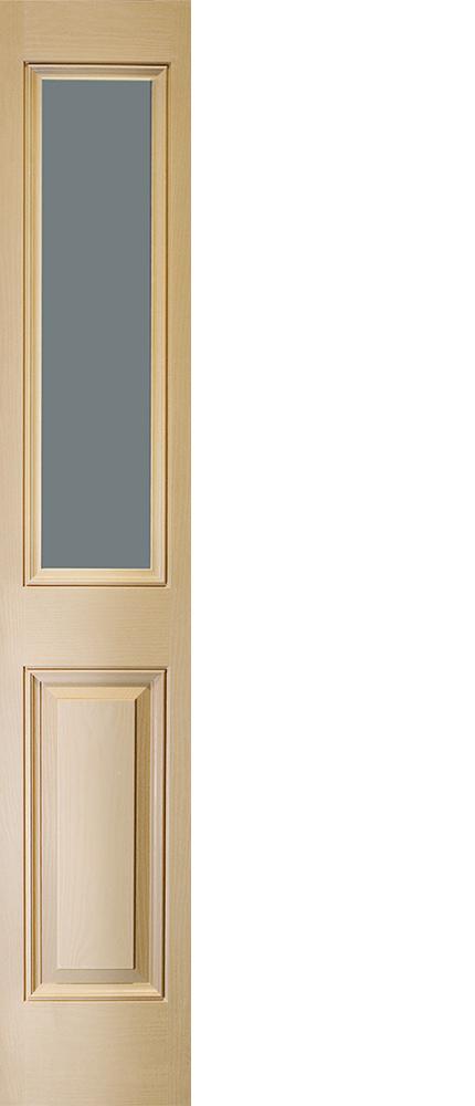"6'8"" Fiberglass 1/2 Sidelite Open&Beaded Oak Textured (WG23)"