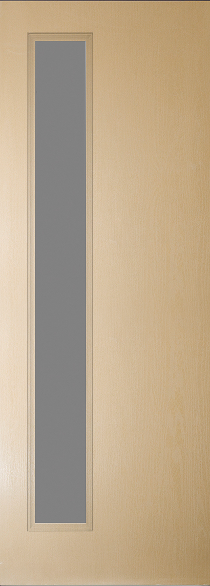 "8'0"" Fiberglass Narrow Lite Open&Beaded Oak Textured (WG5L)"