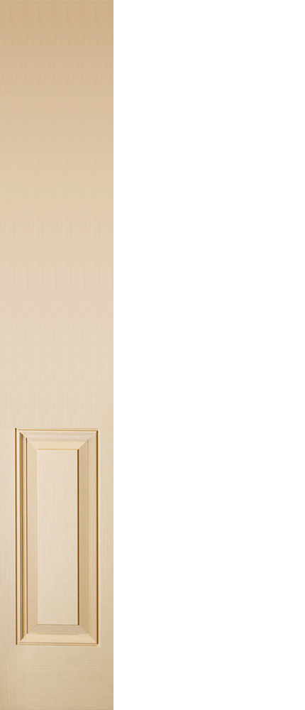 "6'8"" Fiberglass 6 Panel Sidelite Oak Textured (WS68)"