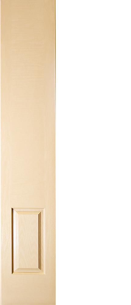"6'8"" Fiberglass 3/4 Oval Sidelite Oak Textured (WG34)"
