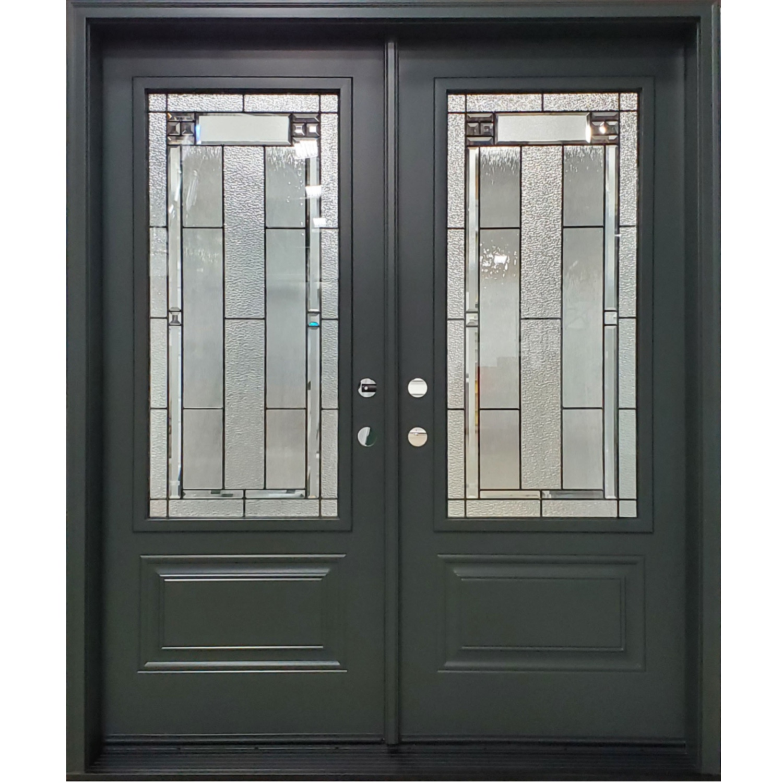Orleans Double door with 3/4 glass