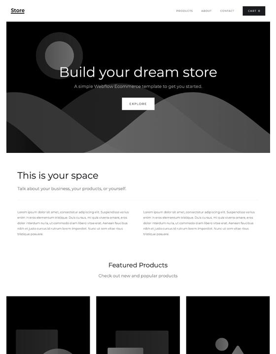 Store Starter