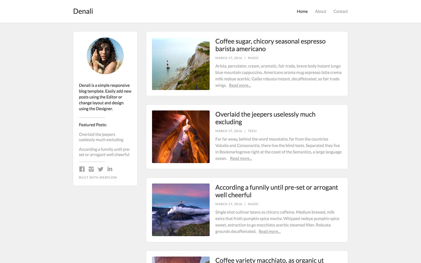 Website Templates by Webflow  Webflow Pertaining To Which One Is Better Free Templates Versus Premium Templates