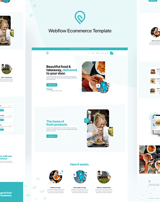Free Html5 Responsive Website Templates Webflow