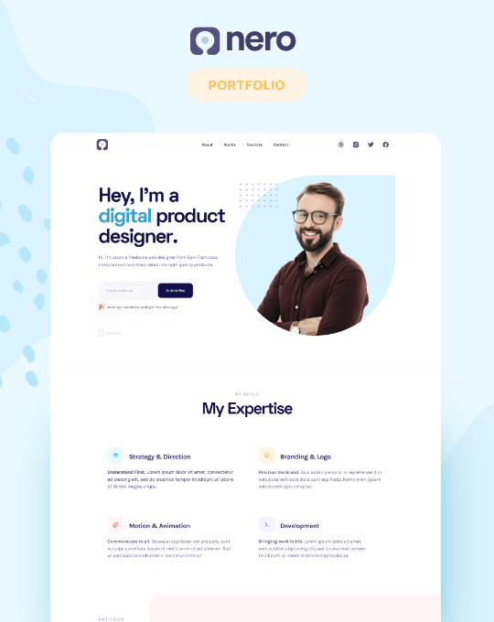 Portfolio Website Templates Available At Webflow