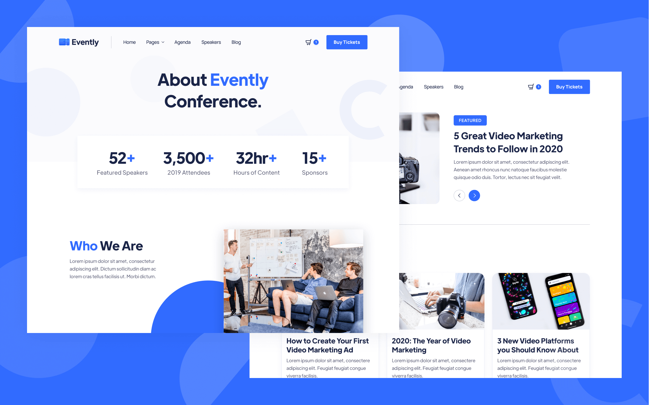 Virtual Conference Webflow Template