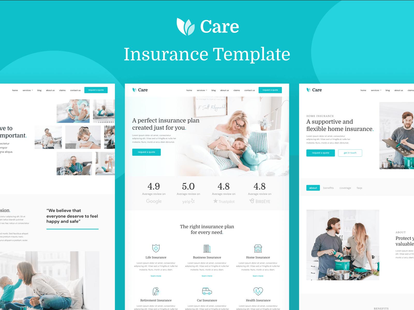Insurance Webflow Template