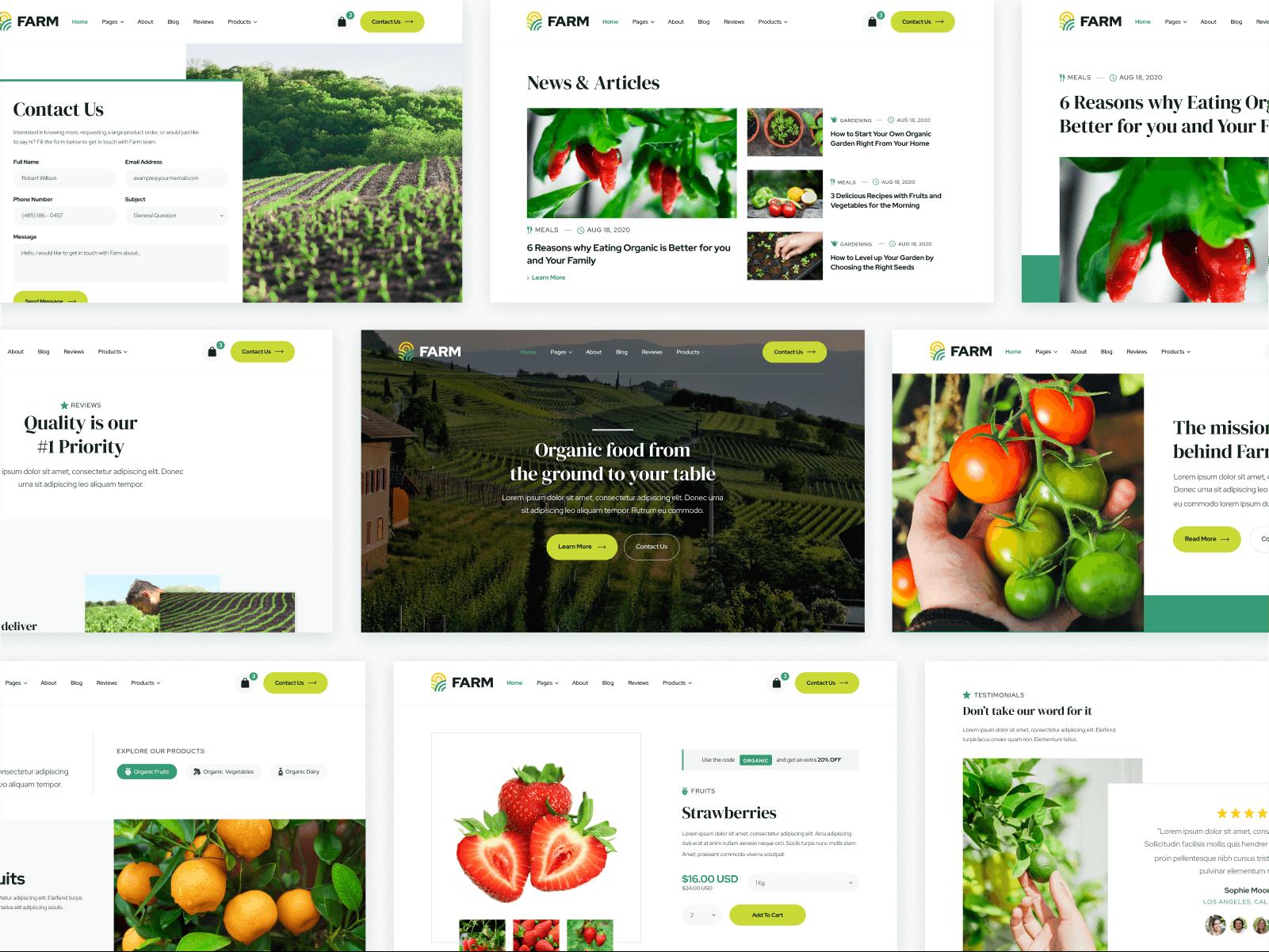 Webflow Template Farm