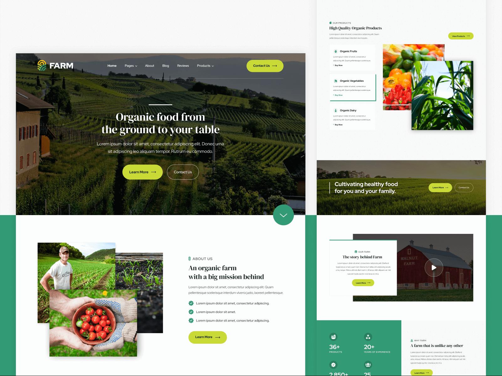 Farm Webflow Template