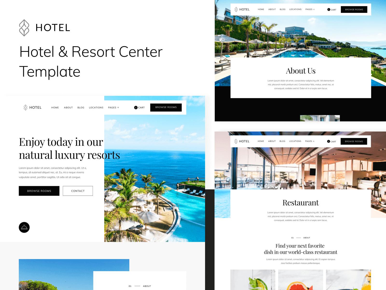 Hotel Webflow Template