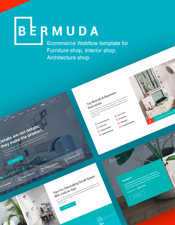 Bermuda - Ecommerce