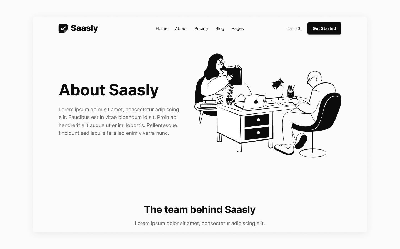 SaaS Company Webflow Template