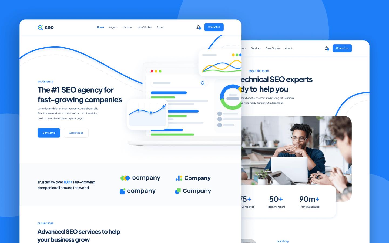 Webflow Template SEO Agency