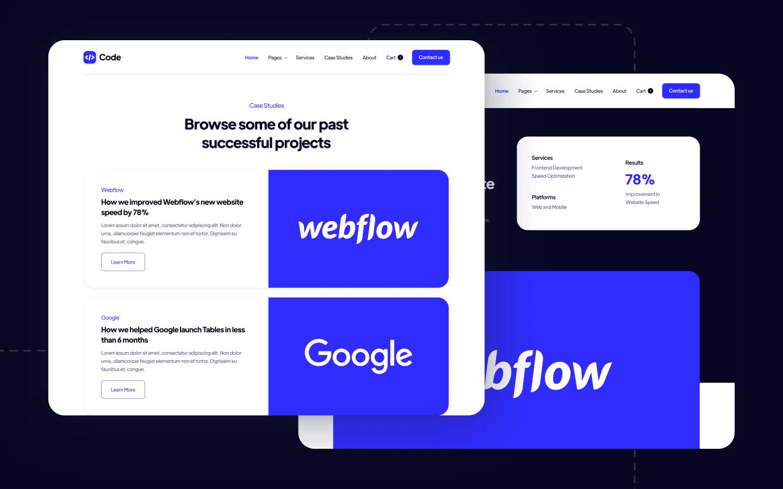Development Agency Webflow Template