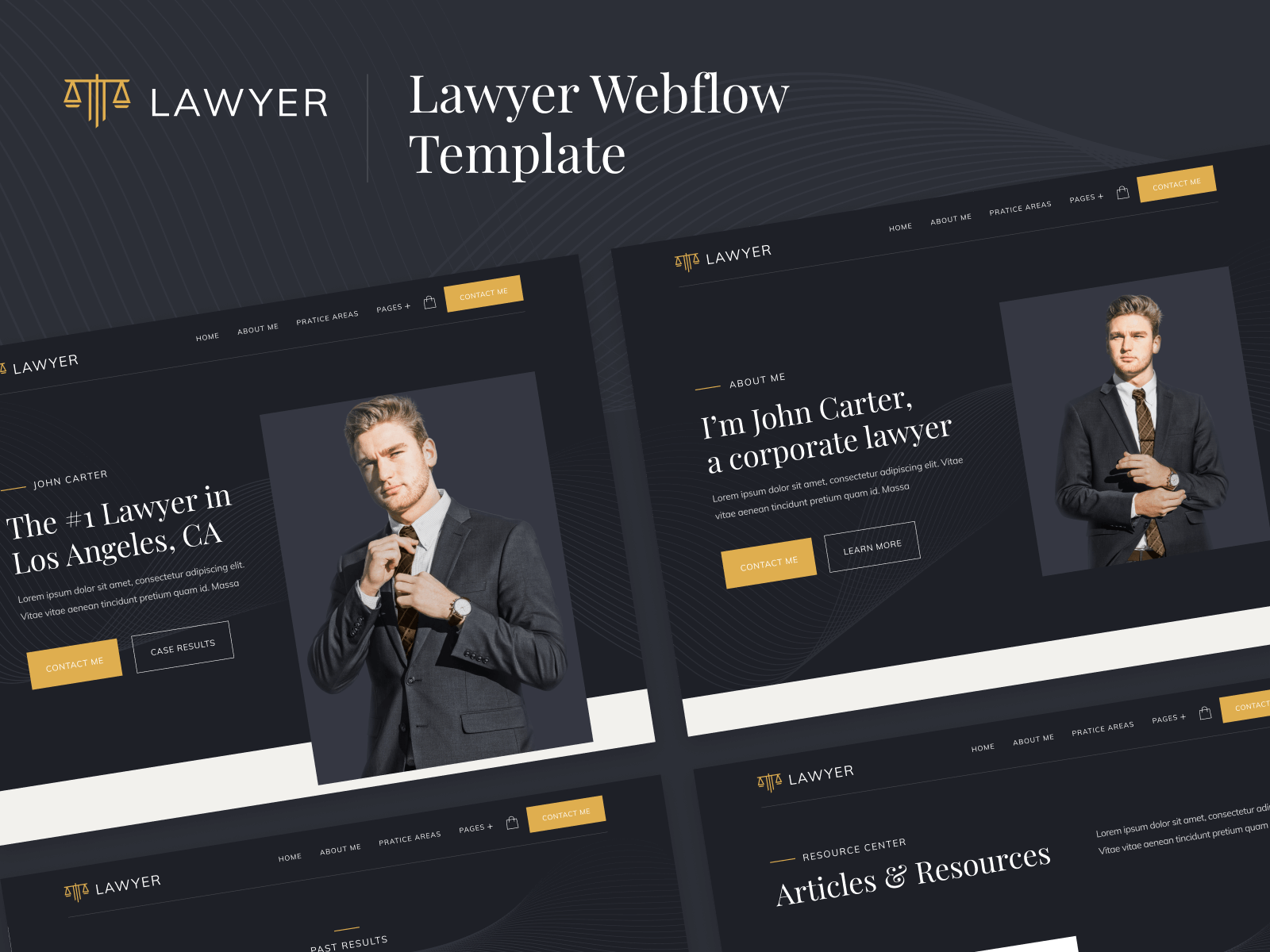 Lawyer Webflow Template