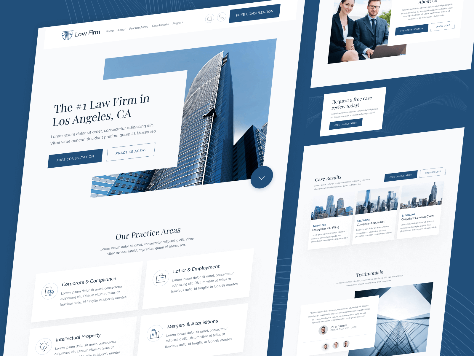Law Firm Legal Firm Webflow Template
