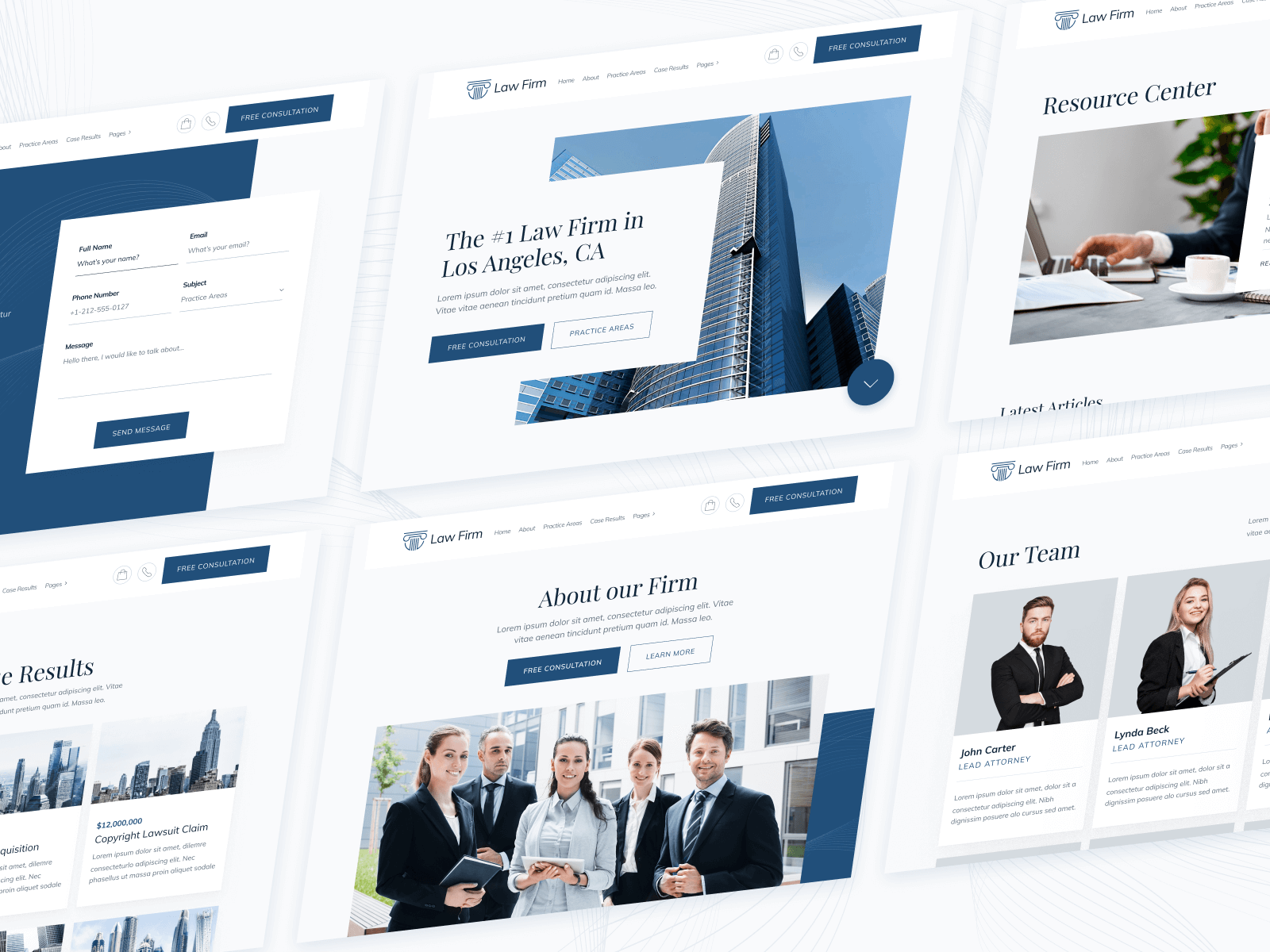 Lawyer Firm Webflow Template