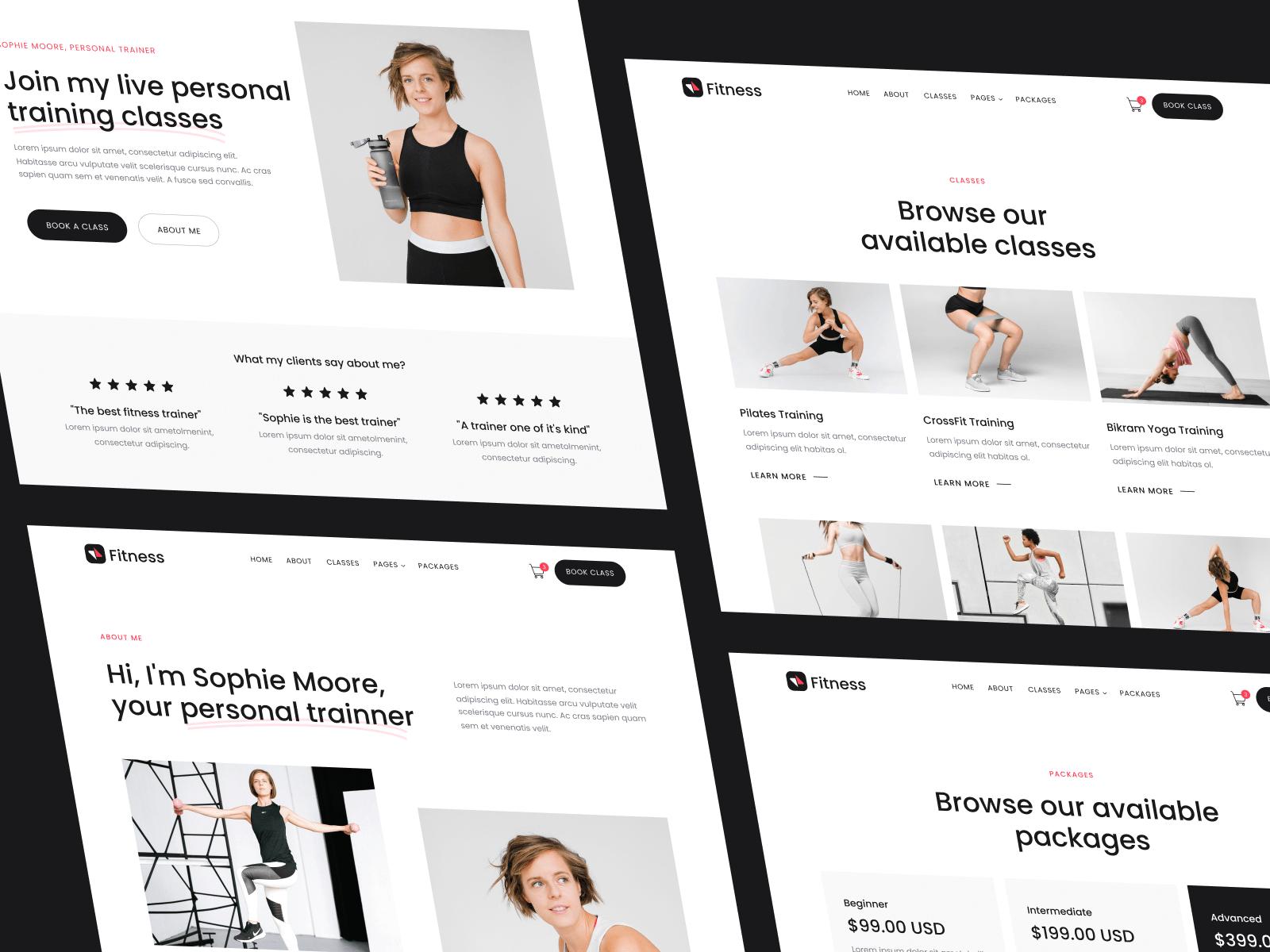 Gym Webflow Template