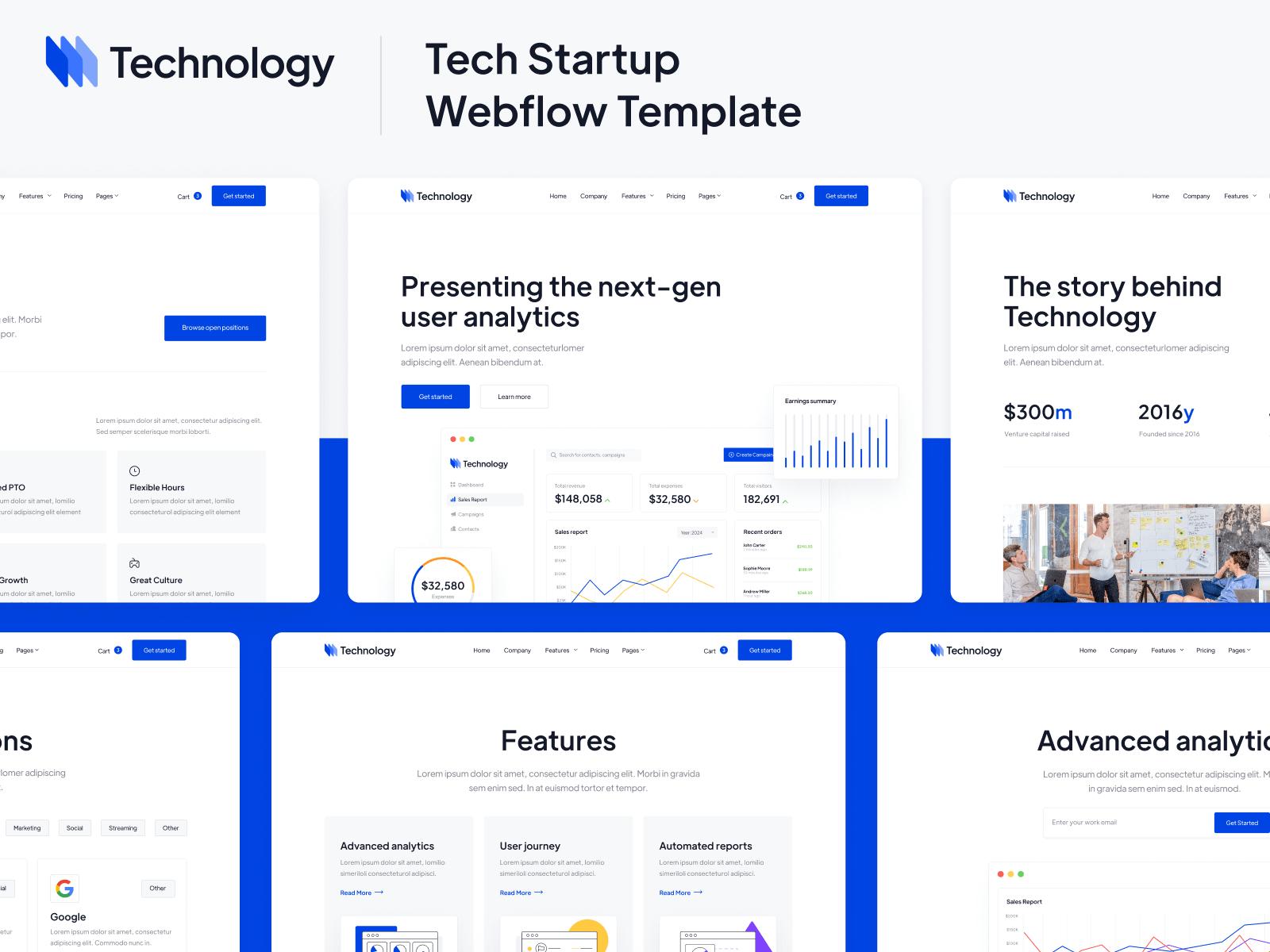 Technology Webflow Template