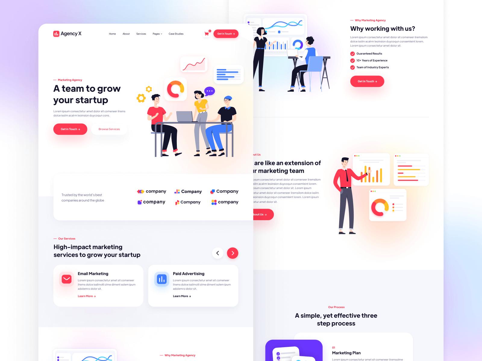 Marketing Agency Webflow Template