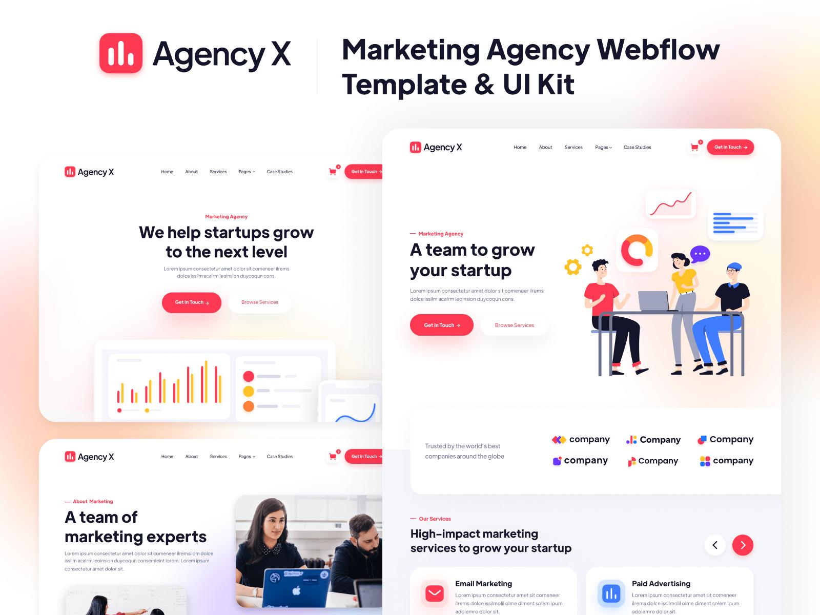 Agency Webflow Template