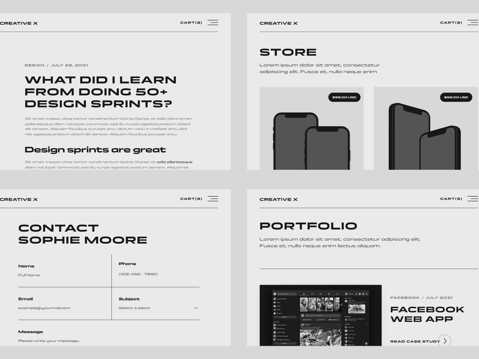 Portfolio Webflow Theme