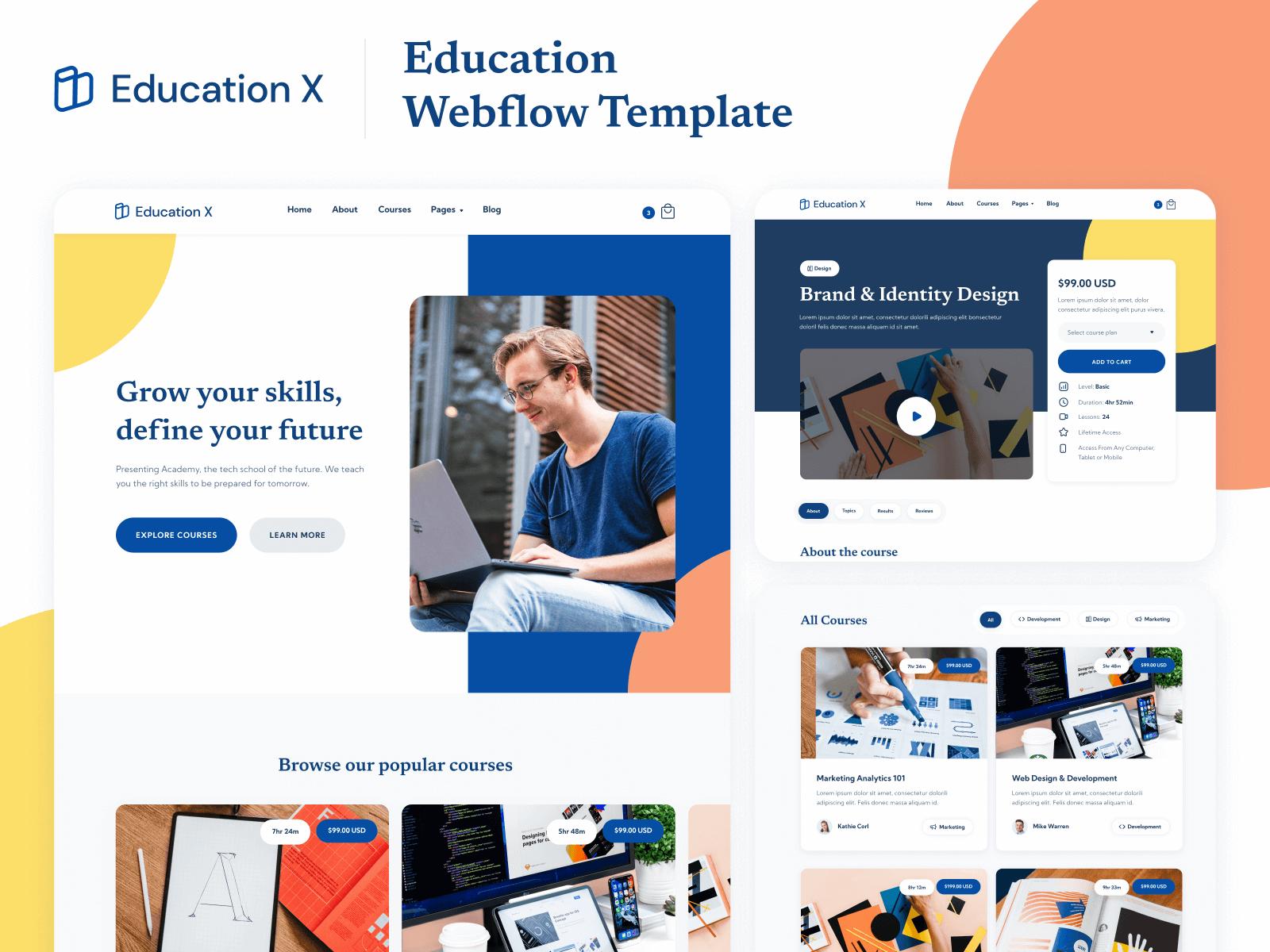 Education Webflow Template