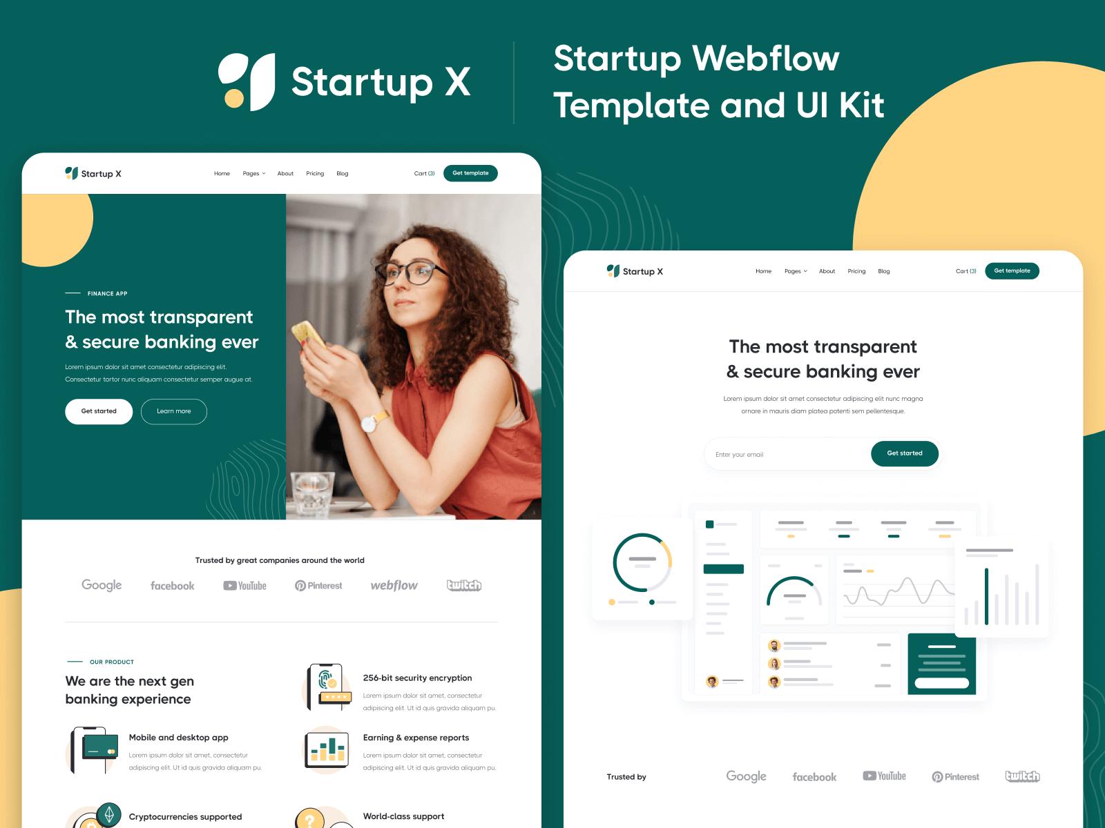 Startup Webflow Template