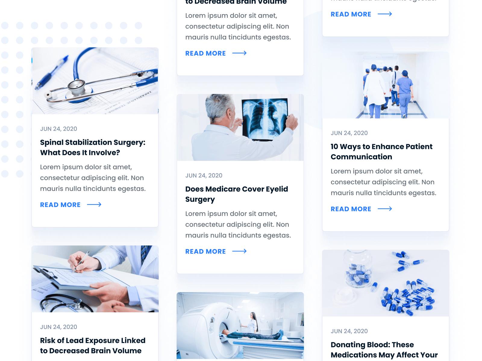 Hospital Health Webflow Template