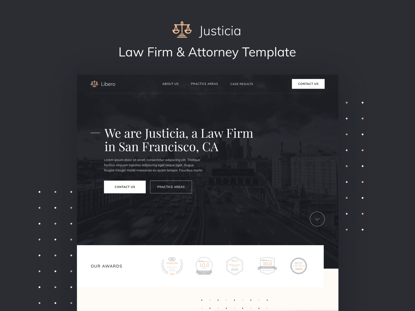 Law Firm Lawyer Webflow Template