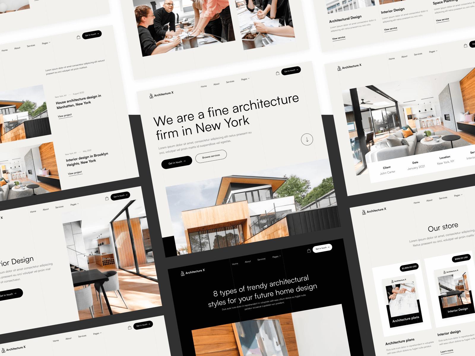 Architecture Design Webflow Template