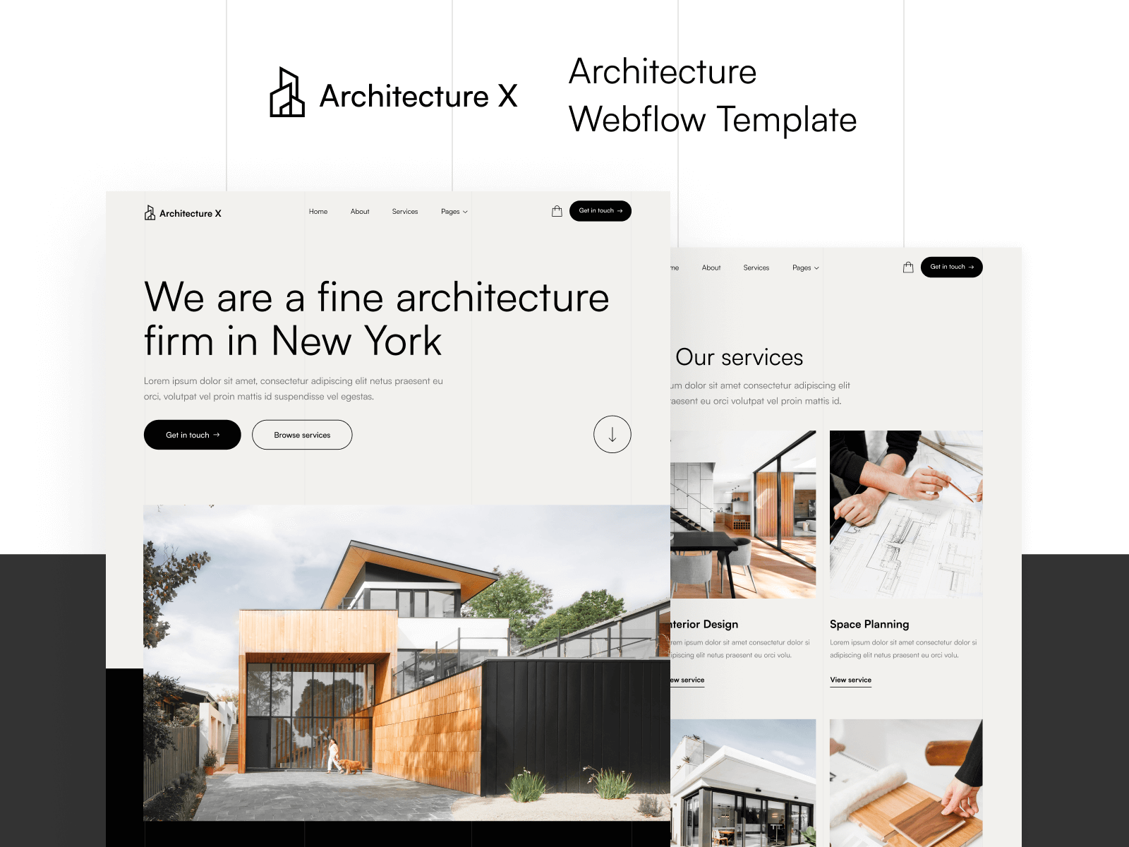Architecture Webflow Template