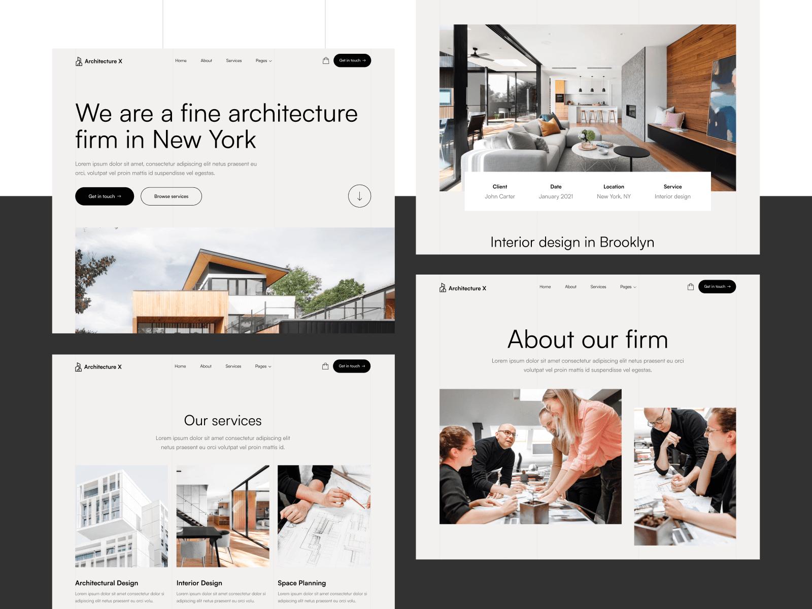 Architecture Webflow Theme