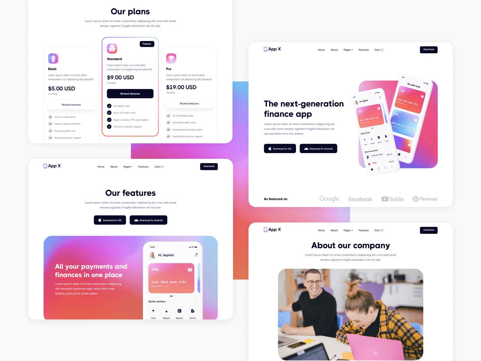 App Webflow Theme