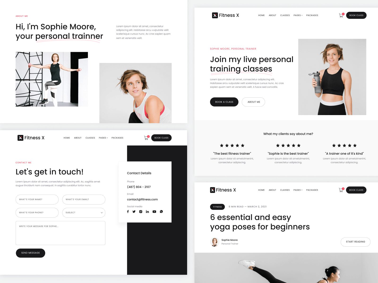 Gym Fitness Webflow Template