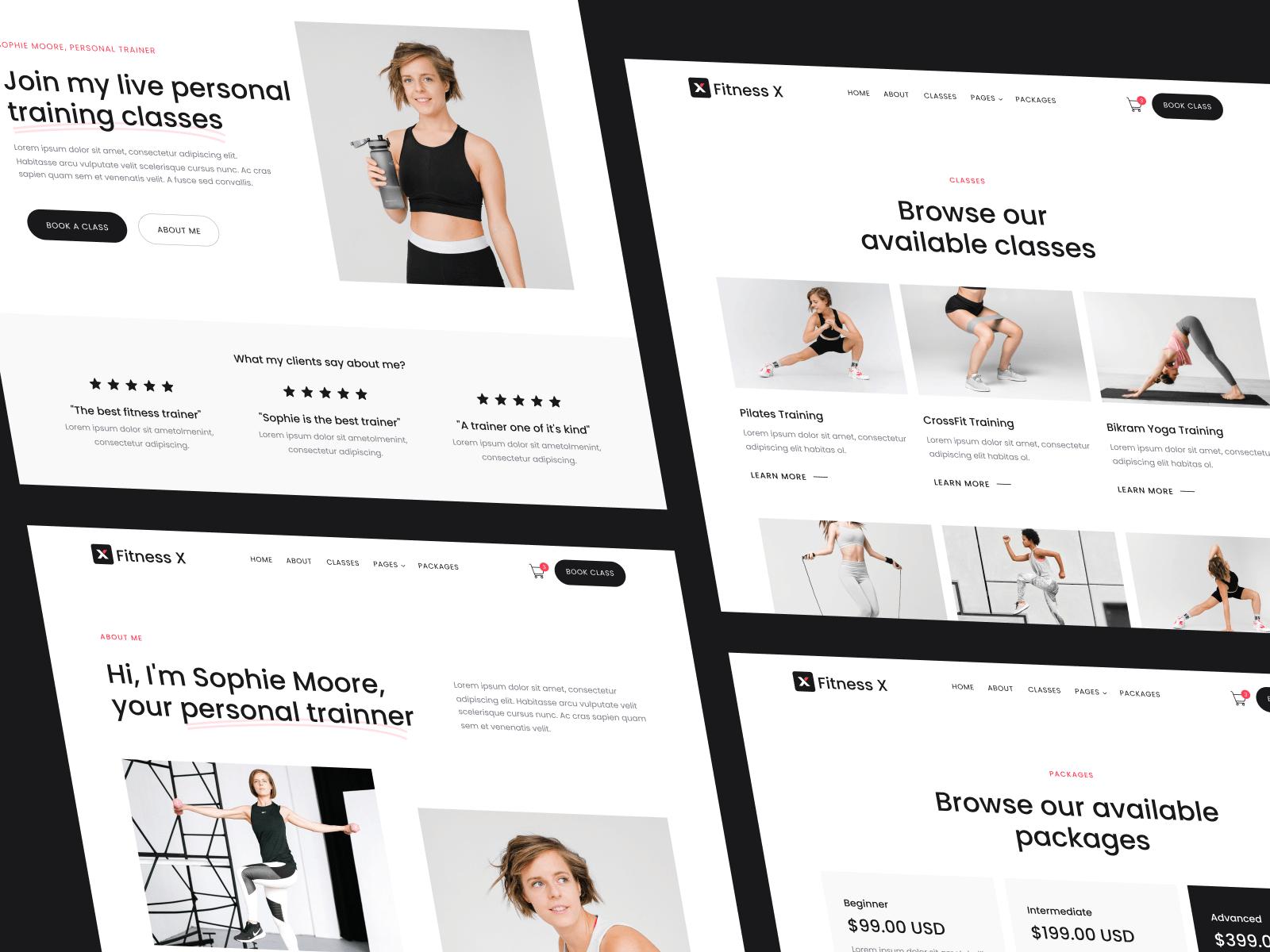 Fitness Gym Webflow Template