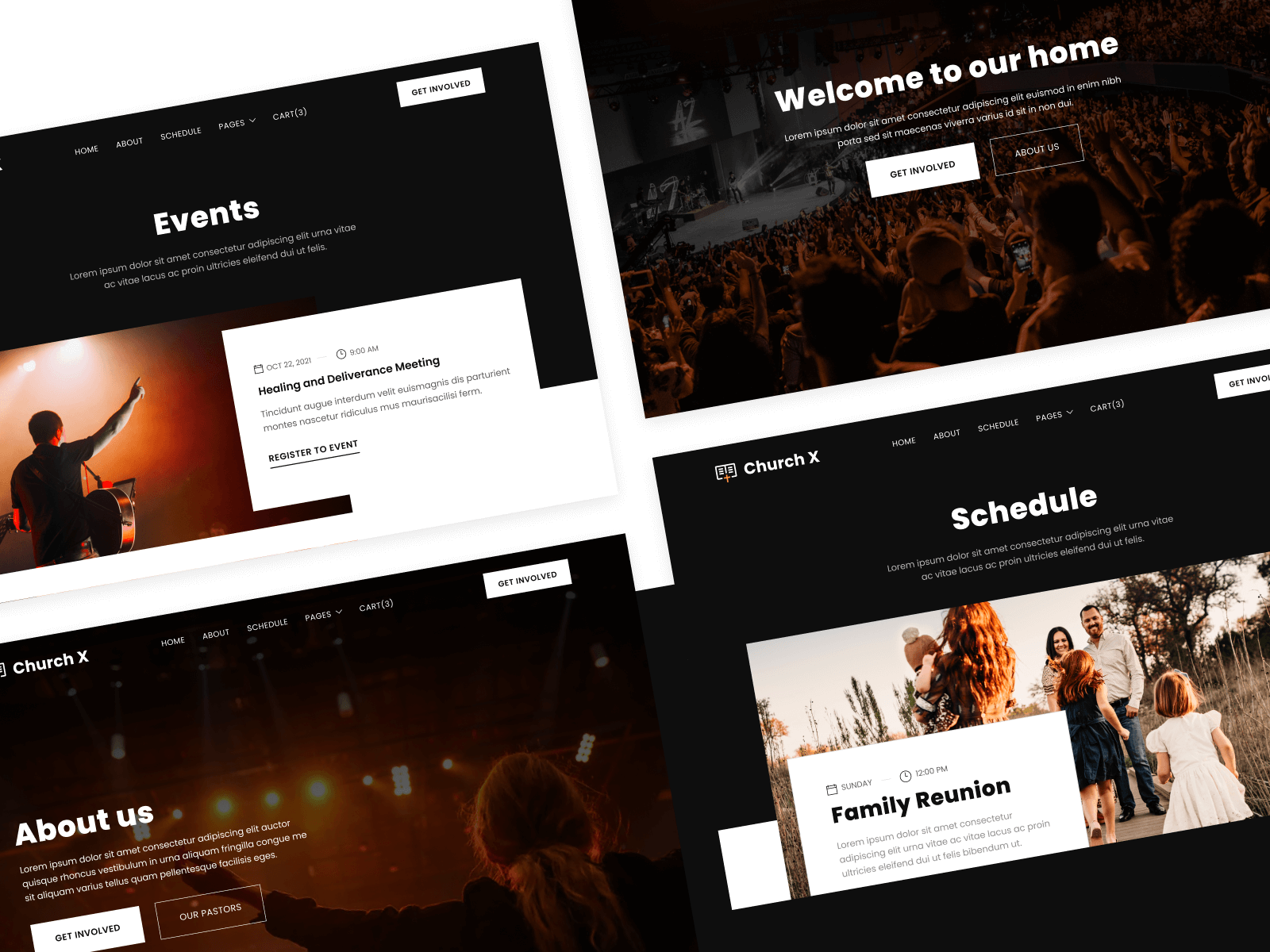Evangelical Church Webflow Template