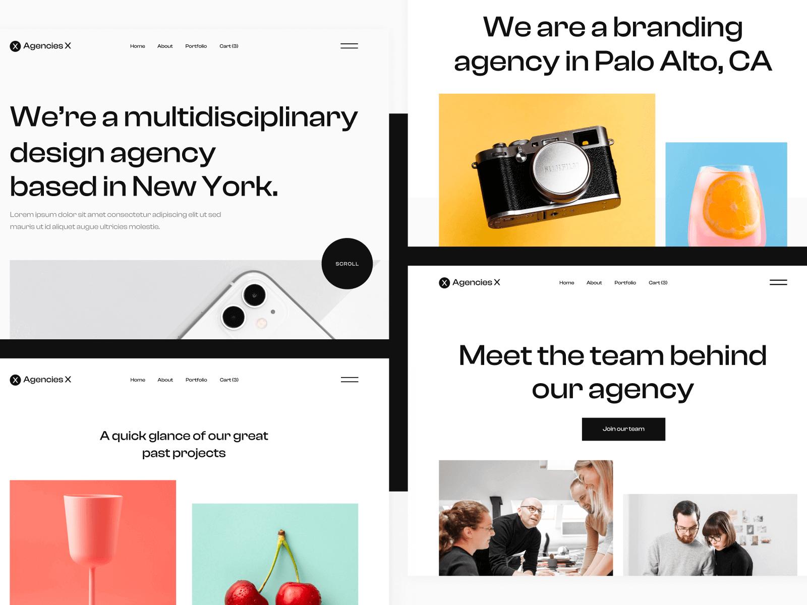Agency Webflow Theme
