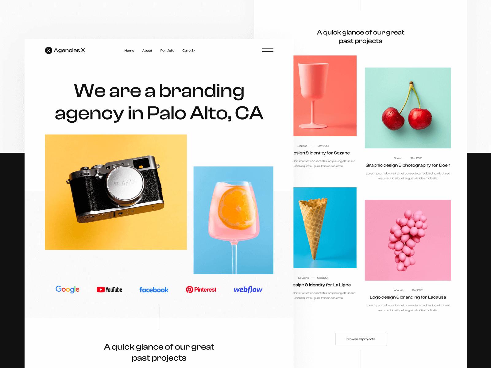 Creative Agency Webflow Template