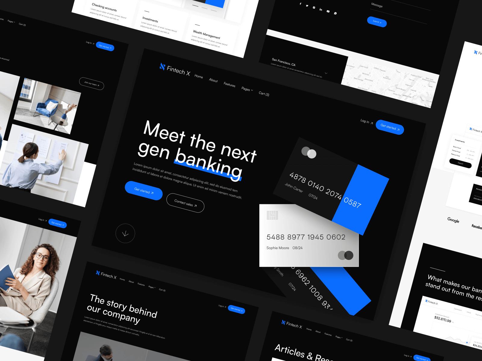 Banking Webflow Template