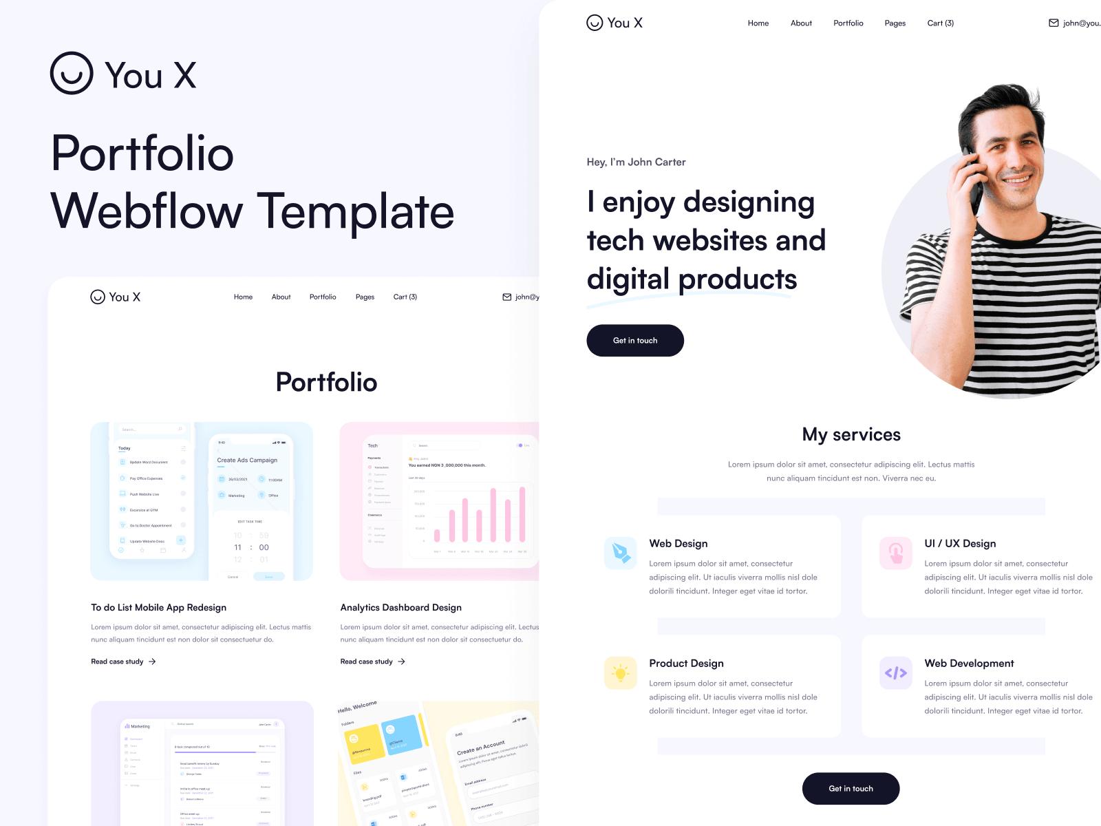 Personal Webflow Template