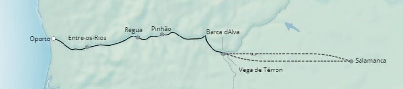 Douro-Discovery-Itinerary-Map