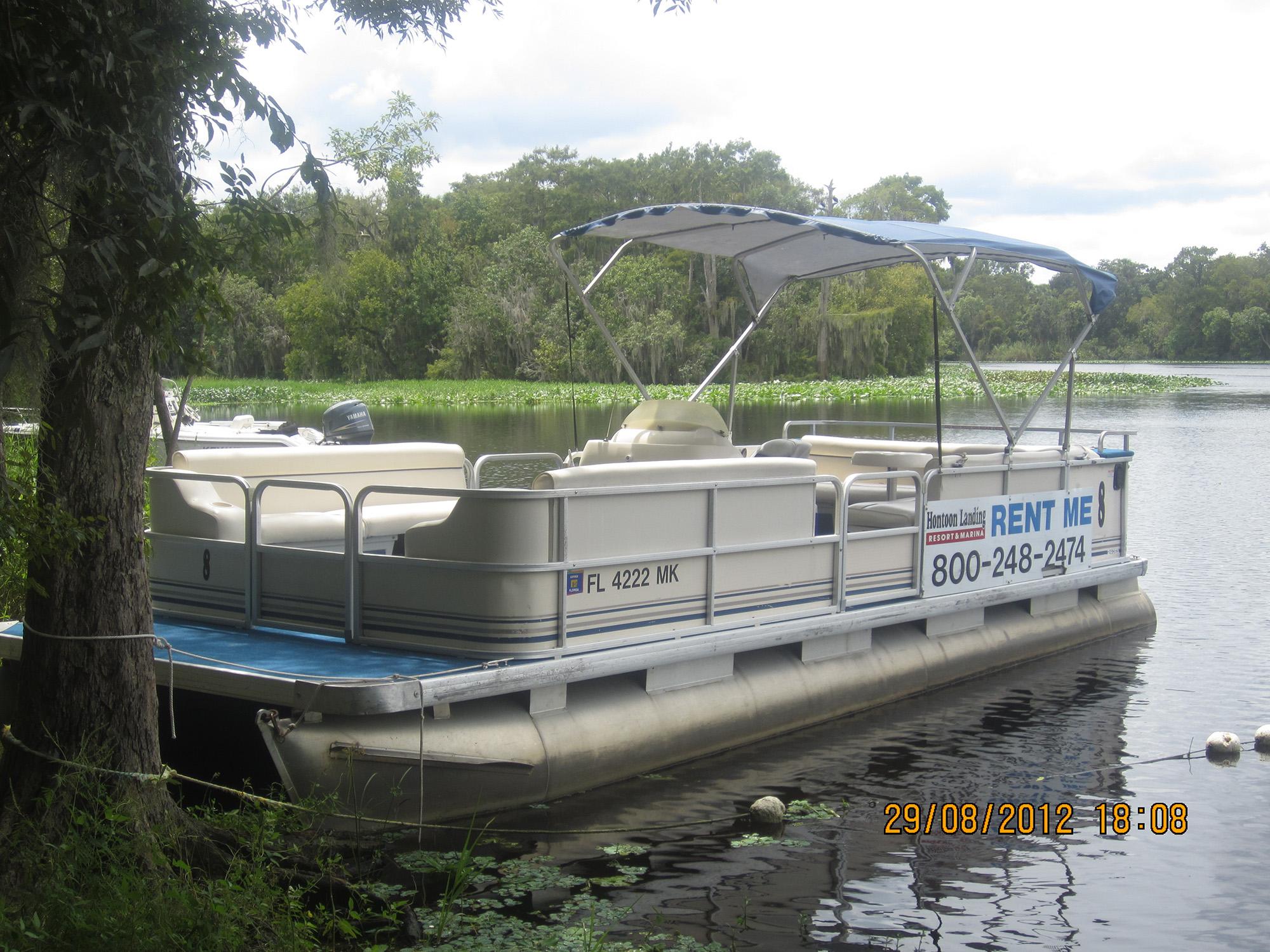 Hontoon Pontoon Boat