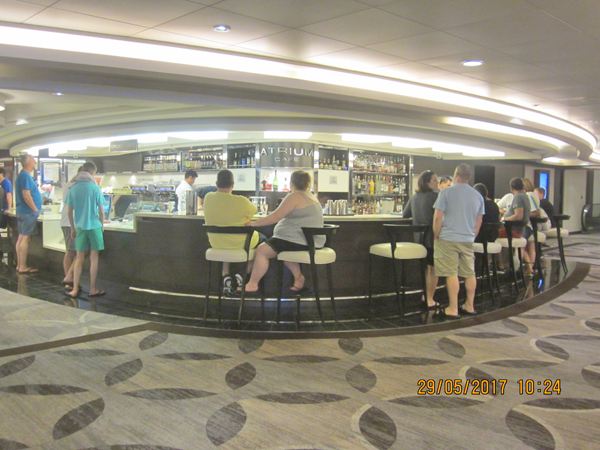 Norwegian Epic Atrium Cafe